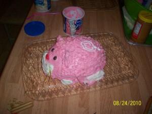 ZhuZhu Birthday Cake