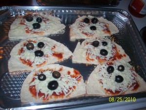 Pranster Pita Pizza