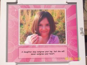 Photo plaque of Gillian