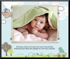 Baby Photo Plaque