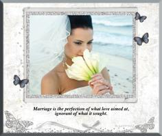Wedding Photo Plaques
